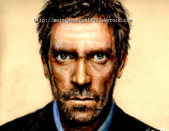Hugh Laurie par mein-dessins1402